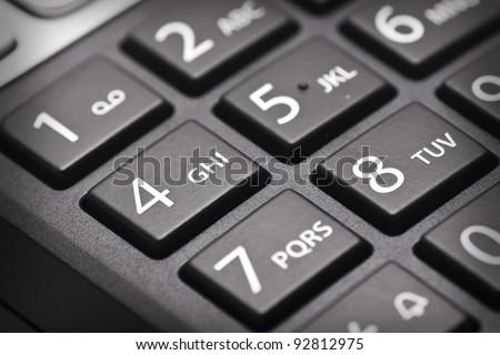cordless phone keypad