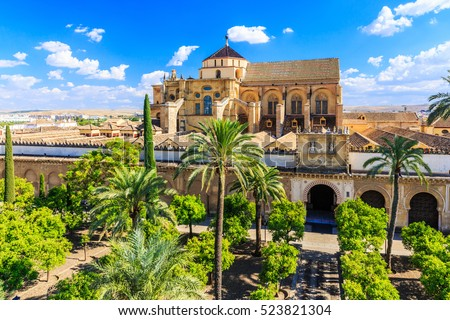 Cordoba, Spain. The Mezquita Mosque-Cathedral.