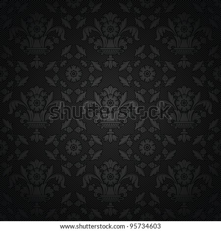 Corduroy background, ornamental fabric texture. Bitmap copy my vector ID 94652587