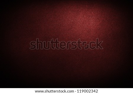 corduroy polipropylen red background - stock photo