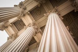 Corinthian Style Columns