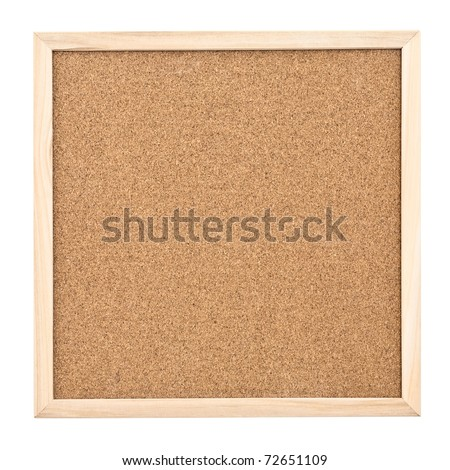 Cork board - stock photo