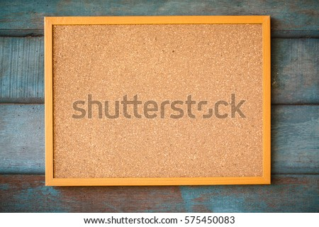 cork board background. education concept.