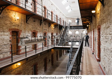 Cork City Gaol. Now historical jail museum. Cork, Republic of Ireland