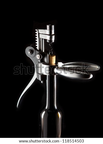 corkscrew opener for wine bottles
