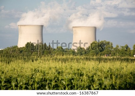 corn farming and two nuclear power plants