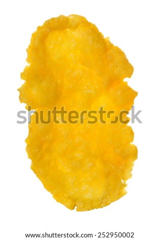 Corn flakes isolated on white background - Shutterstock ID 252950002