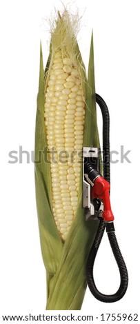 corn stalk ethanol gas pump