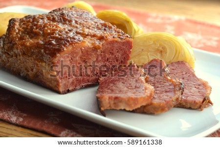 Corned Beef Brisket and Cabbage