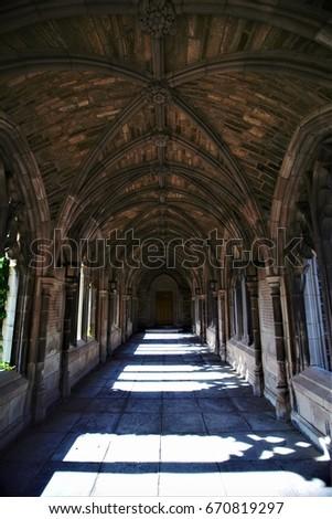 Cornell University corridor #670819297