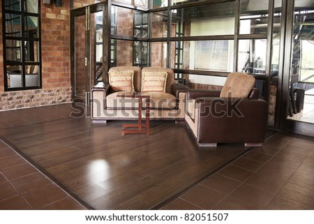 corner of a luxury modern apartment
