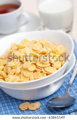 cornflakes for breakfast #63865549