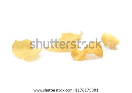 Cornflakes isolated on white background #1176175381