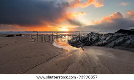 Cornish Beach, Cornwall, UK