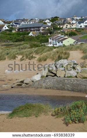 Cornish Coastline #693838339