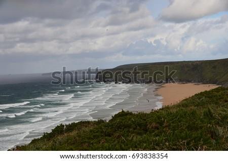 Cornish Coastline #693838354