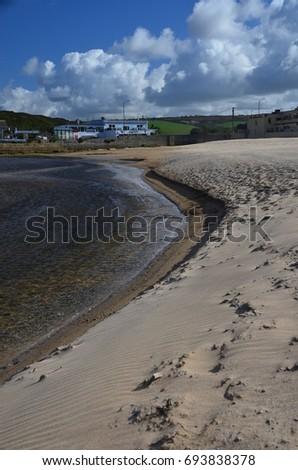 Cornish Coastline #693838378