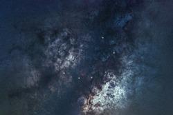 Corona Borealis star constellation, Night sky, Cluster of stars, Deep space, Northern Crownconstellation