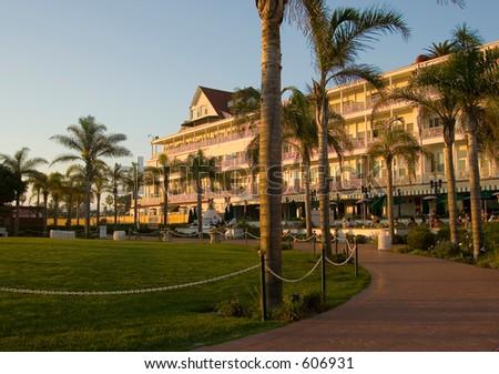 Coronado Hotel at San Diego beach California, USA (exclusive at shutterstock)