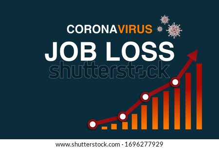 coronavirus impact on the economy worldwide has caused massive amounts of job loss and record level of employees on furlough. governments has provided stimulus checks to help people in need  ストックフォト ©