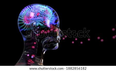 Coronavirus or viruses travel into brain through nose, COVID-19 can damage brain, causing symptoms likedeliriumand confusion