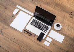 corporate and web identity design template