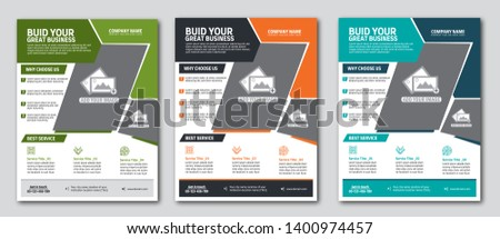 Corporate Business Flyer Template Template