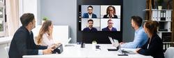 Corporate Business Training Presentation In Executive Boardroom