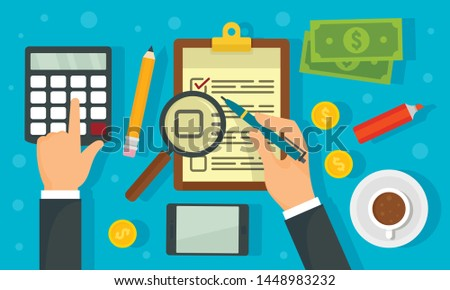 Corporate governance concept background. Flat illustration of corporate governance concept background for web design