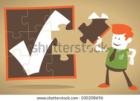 Corporate Guy has the missing piece of the puzzle