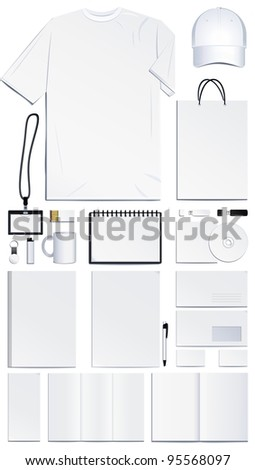 Corporate identity presentation - stock photo