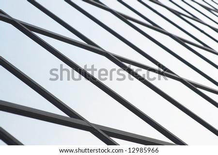 Corporate office building windows