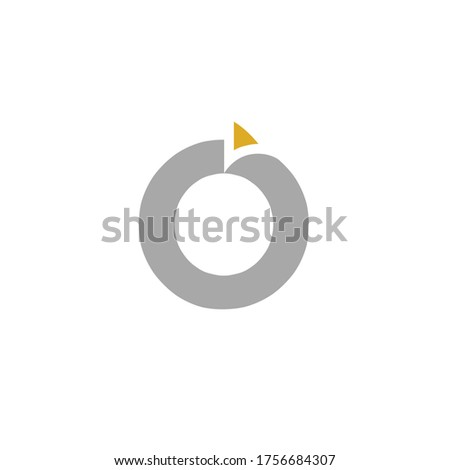 Corporate or company logos or brands that use the basis of the letter O. Health and education are more appropriate Foto stock ©