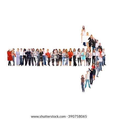 Corporate Teamwork People Diversity  #390758065