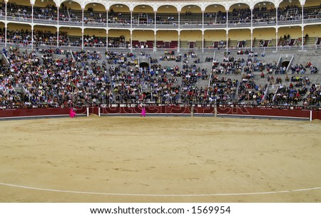 Corrida, bullfighting in MAdrid