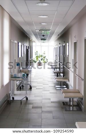 Corridor at hospital