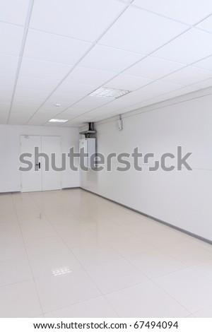 Corridor in the office building