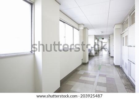 Corridor Of The School