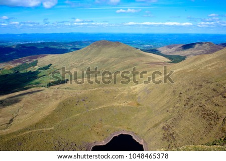 Corrie at Galtees Ireland