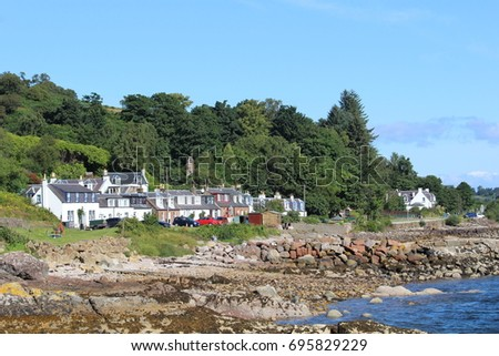 Corrie Village - Isle of Arran - Scotland