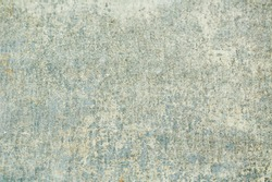 Corroded metal background. Painted metal wall. The metal surface rusted spots.