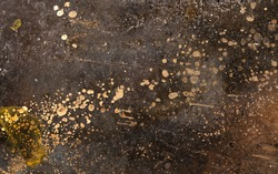 Corroded metal grunge texture or background