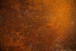 Corroded metal sheet grunge background or texture