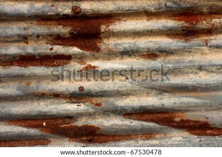 Corrosion of zinc