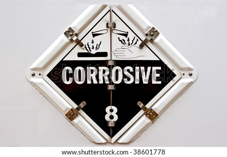 Corrosive - stock photo