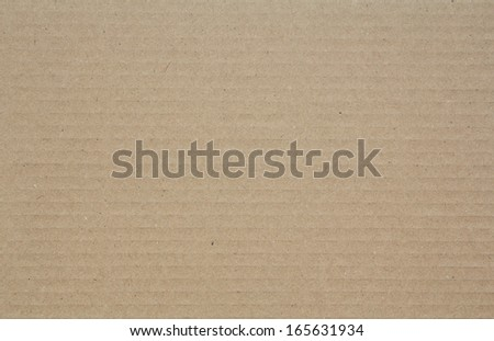 Corrugated cardboard paper as background