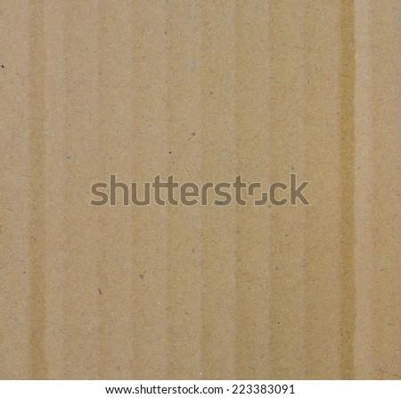 Corrugated cardboard paper texture background