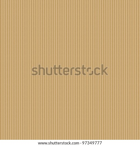 Corrugated cardboard seamless background - texture pattern for continuous replicate.