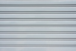 Corrugated metal sheet