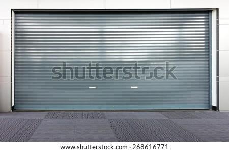 Corrugated metal sheet,Slide door ,Roller shutter texture